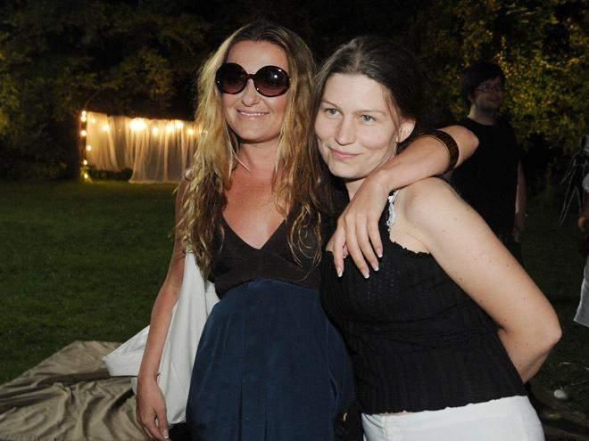 Наталія Могилевська з Ладою Лузіною