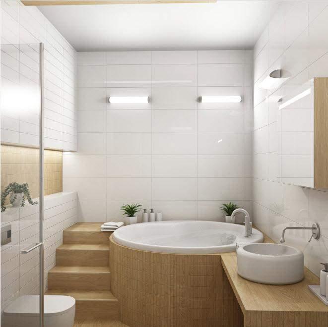 При хорошому плануванні в маленькій ванній буде комфортно