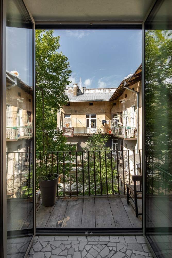 Балкон залишили без змін / Фото Archdaily