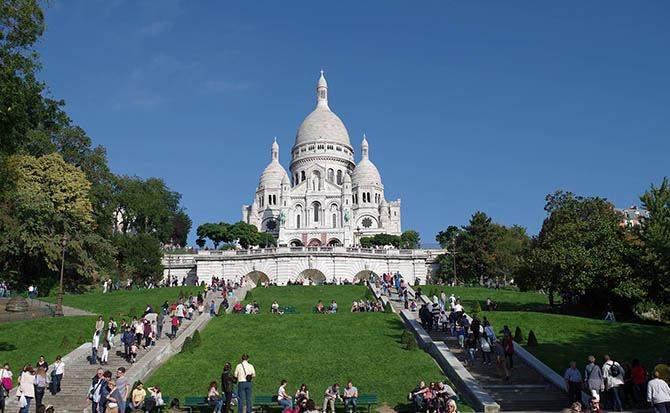 Базиліка Монмартр в Парижі