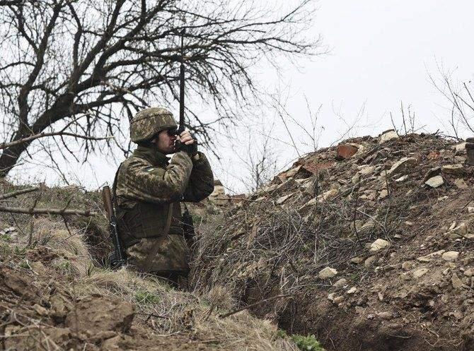 Окупанти обстрілюють українські позиції