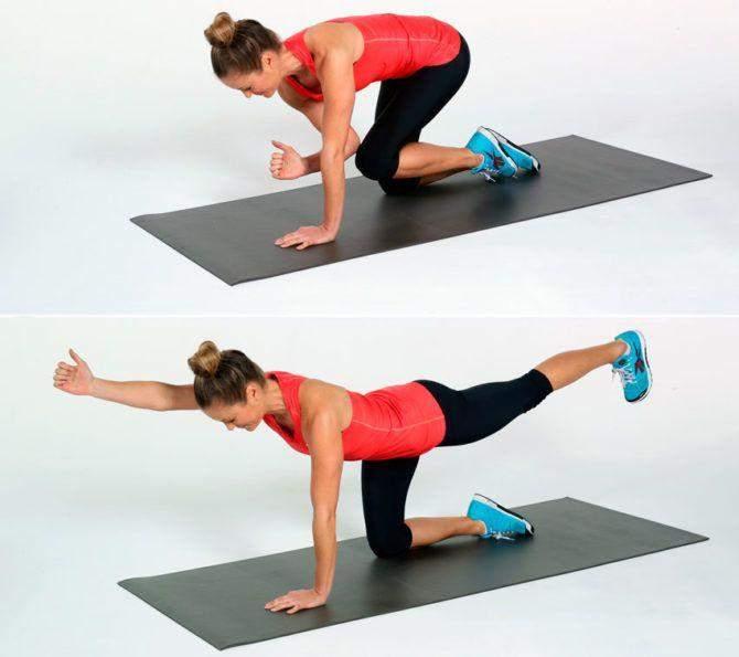 Упражнения на баланс полезны для спины