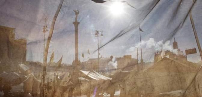 Небесна сотня, окупація Криму, АТО: рік України у фото