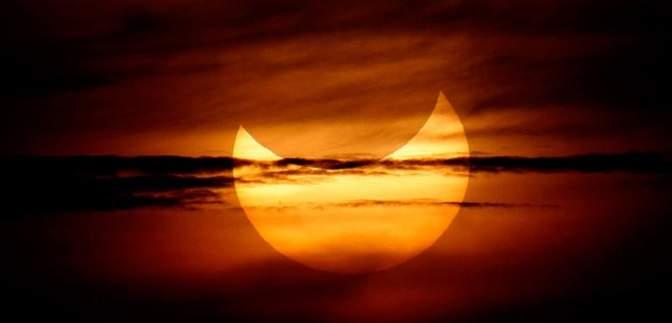 В марте в Украине будет наблюдаться солнечное затмение