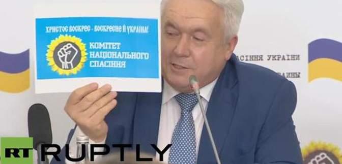 """Азаров показав у Москві нового """"президента"""" для України"""