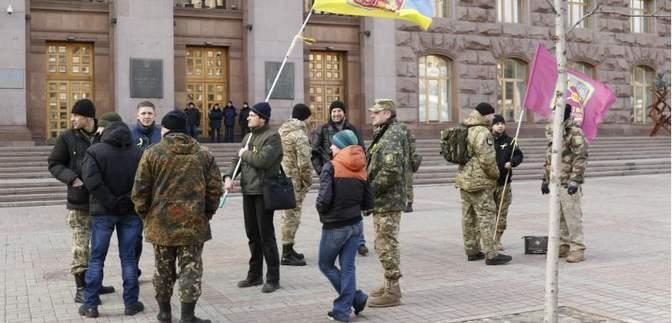У Києві відбувся марш пам'яті героїв Дебальцевого