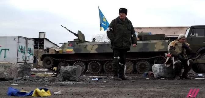 Як бойовики ввійшли у Дебальцеве – з'явилось унікальне відео