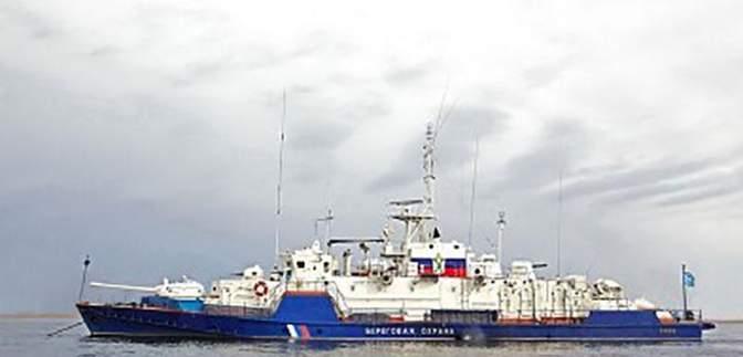 Російський військовий корабель наблизився до Маріуполя