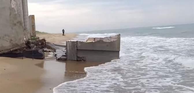 Скандальную дачу Литвина смыло в море