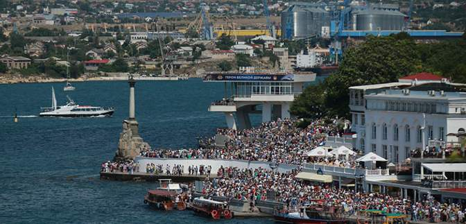 На рублях напечатают украинский город