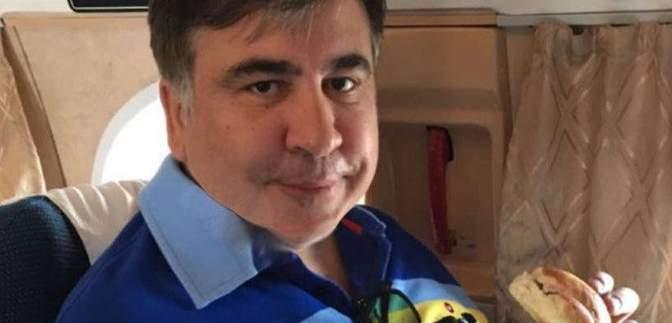 Саакашвили во время шторма в Одессе прохлаждался в Испании