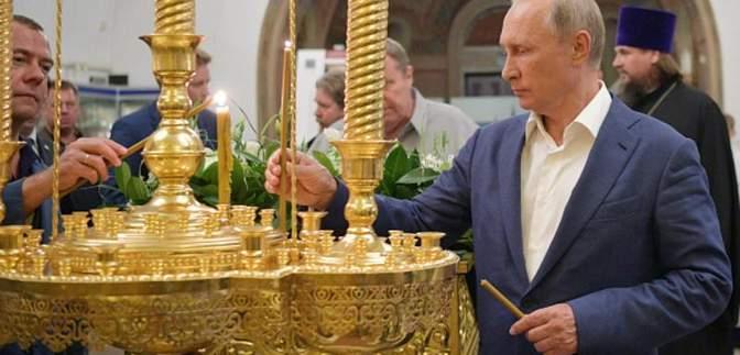 Школа, церковь, музей и встреча с байкерами: что делал Путин в оккупированном Крыму
