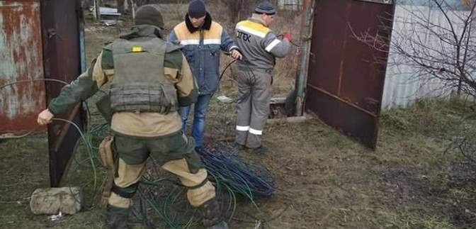 Боевики выпустили 18 мин по электрикам в Травневом