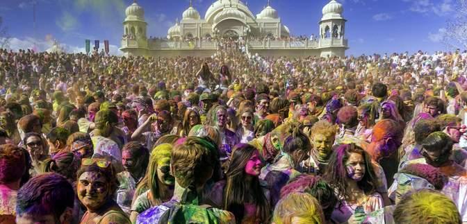 Що таке Холі – все про фестиваль кольорів та свято весни