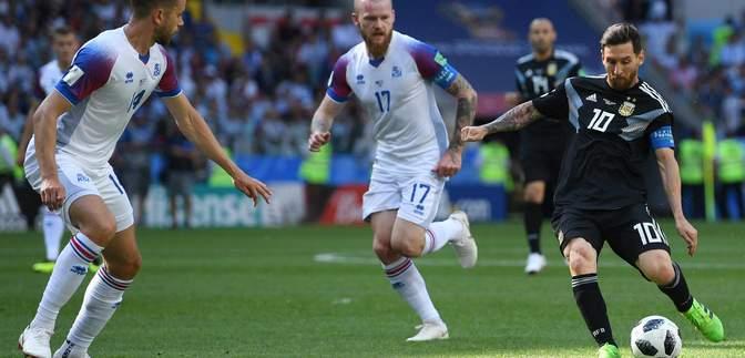 Аргентина не зуміла переграти Ісландію на Чемпіонаті світу 2018, Мессі не забив пенальті