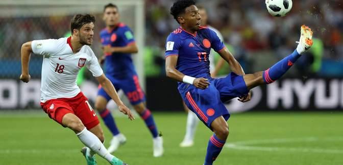 Збірна Польщі поступилася Колумбії та вилетіла з Чемпіонату світу