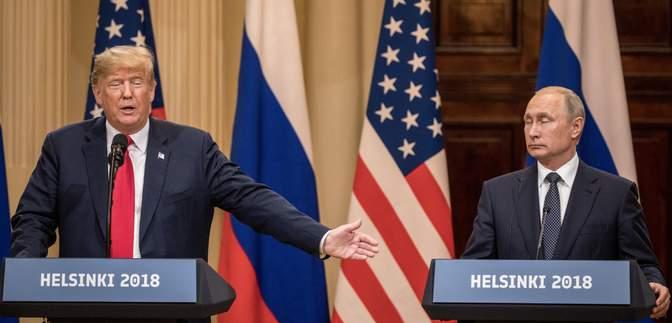 Трамп до сих пор не может отойти от встречи с Путиным