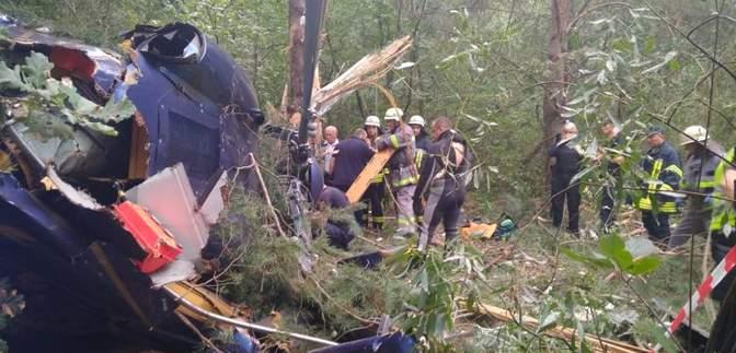 Авиакатастрофа на Трухановом острове в Киеве: первые подробности инцидента