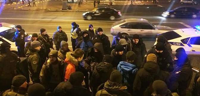 Задержания возле Дома профсоюзов в Киеве: в полиции прокомментировали инцидент