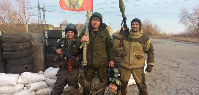 Плохая примета топтать флаг Украины: на Донбассе ликвидирован командир боевиков