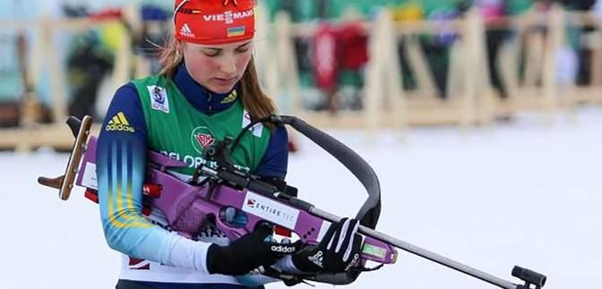 Українка Журавок здобула срібло чемпіонату Європи з біатлону