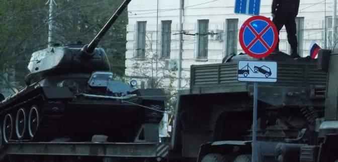 Россия в Крыму провела репетицию военного парада к 9 мая: фото, видео
