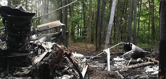 На Львівщині оголосили траур через загибель екіпажу військового вертольота на Рівненщині