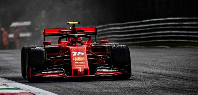 Шарль Леклер виграв третю поспіль кваліфікацію у Формулі-1