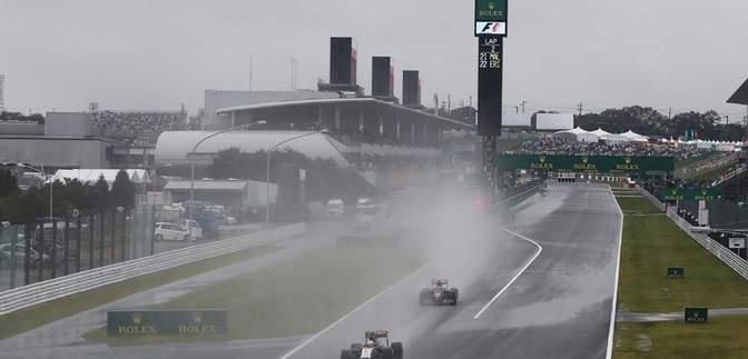 Все субботние заезды Гран-при Японии отменены из-за тайфуна Хагибис
