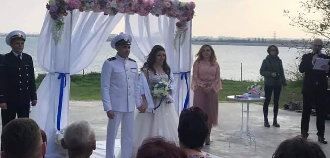 Моряк Безпальченко святкує весілля в Україні: чарівне фото