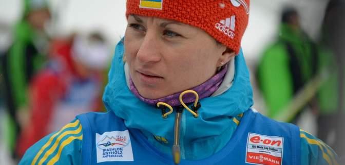 Валя Семеренко фінішувала в топ-10 спринтерської гонки на етапі Кубка світу з біатлону