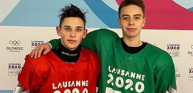 Украинские хоккеисты разыграют между собой золотые медали зимней юношеской Олимпиады