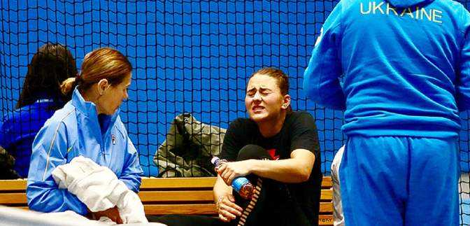 Украина рискует потерять вторую теннисистку на Кубке Федерации