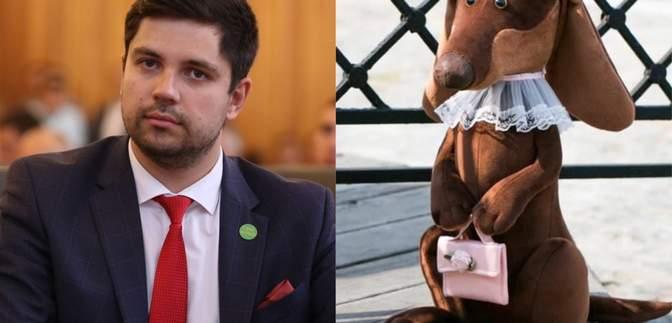 """Депутат выставил на аукцион """"собаку"""", а деньги отдаст пенсионерке, которую обидел Брагарь"""