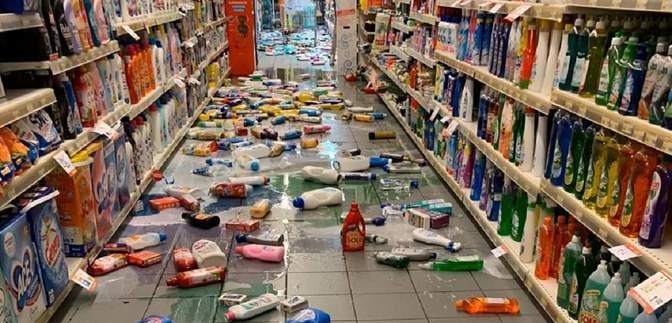 На півдні Італії стався землетрус: фото