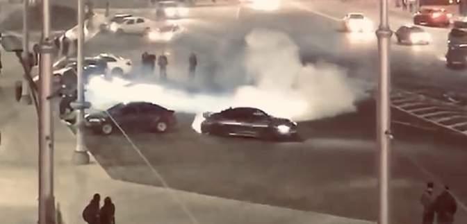 Водитель BMW устроил опасный дрифт в центре Харькова: возмутительное видео