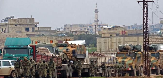 Турция перед началом перемирия ответила на нападение войск Асада: 21 погибший
