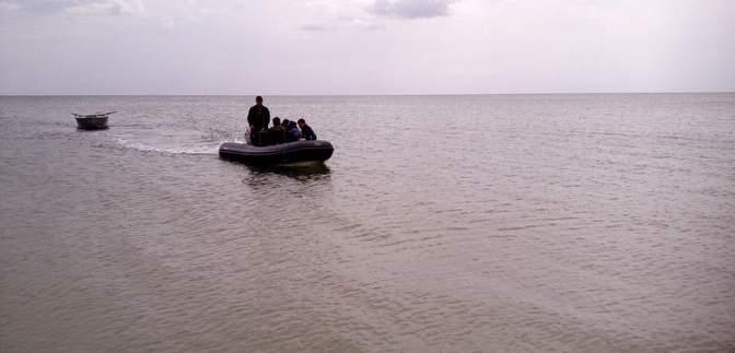 В Азовском море пропали трое украинских рыбаков