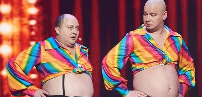 """Кошовий та Ткач записали комедійний трек про """"дієту"""" на карантині: у мережі розкритикували відео"""
