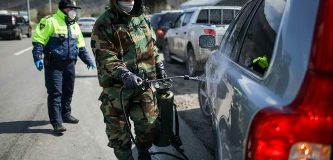 Грузия продлила чрезвычайное положение до 22 мая из-за коронавируса