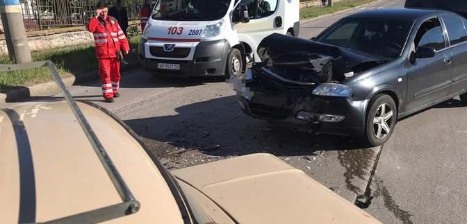 """Водитель """"Запорожца"""" скончался за рулем и совершил ДТП на Запорожье: детали необычной аварии"""