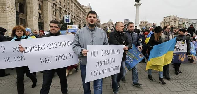 Українські переселенці взяли участь у ТКГ: реакція Росії та підконтрольних їй бойовиків