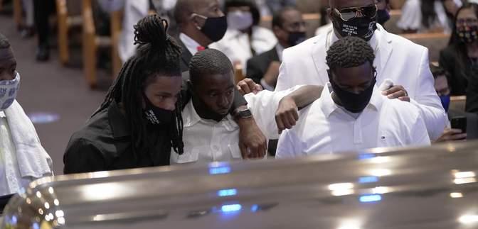 Похороны Джорджа Флойда: фото и видео церемонии