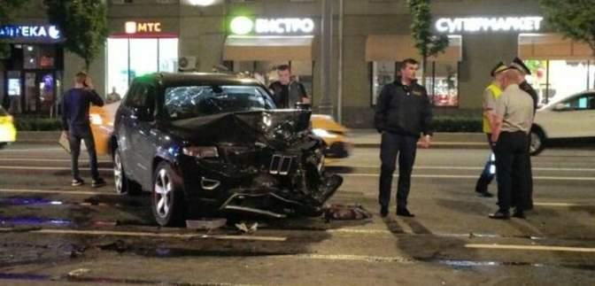 Михаил Ефремов на момент ДТП был в авто один, никто другой не причастен