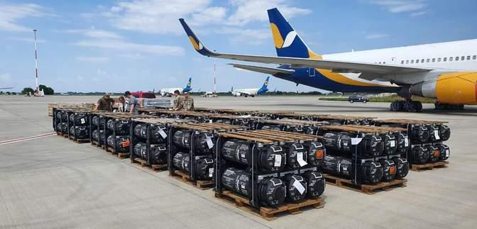 """ЗСУ отримали від США """"Джавеліни"""" та обладнання на 27 мільйонів доларів"""
