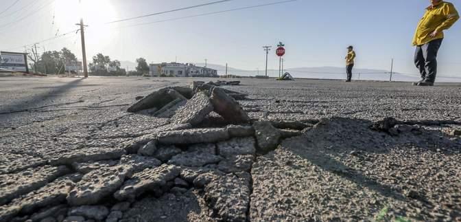 Каліфорнію струсонув потужний землетрус: відео
