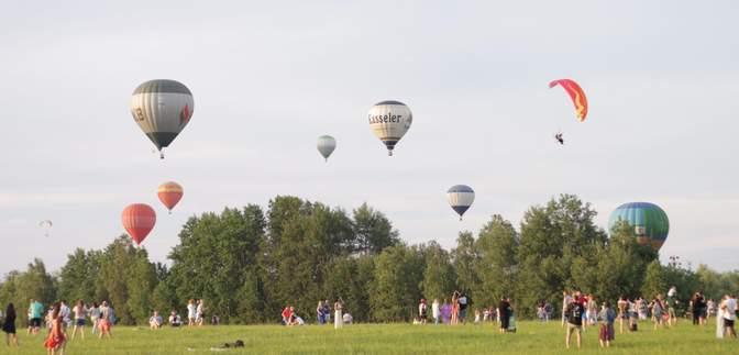 Це завжди авантюра: вражаючий фестиваль повітряних куль під Києвом