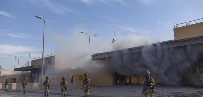 В Багдаде территорию возле посольства США снова обстреляли ракетами: детали