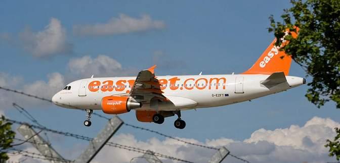 Лоукостер easyJet літатиме з Італії в Україну
