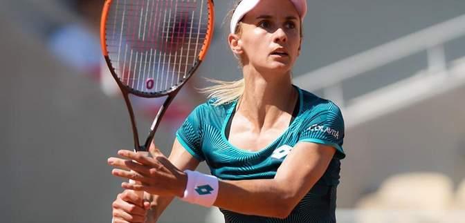 Украинка Цуренко обыграла лучшую российскую теннисистку на турнире в Праге